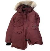 Canada Goose Trillium Burgundy Coat for Women