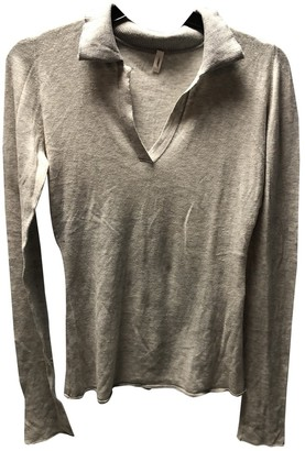 Balenciaga Grey Cotton Knitwear for Women Vintage