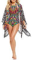 Trina Turk Africana Kimono Cover-Up
