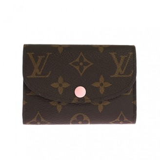 Louis Vuitton Rosalie Brown Cloth Purses, wallets & cases