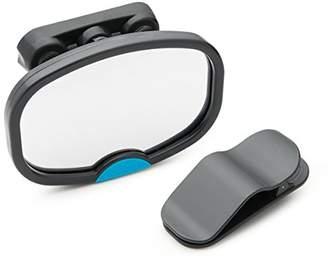 Munchkin Brica by Dual Sight Baby Car Mirror for Rear or Forward-facing Child, Black