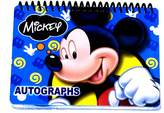 Disney Mickey Mouse Autograph Book