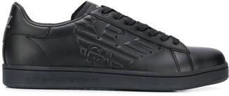 EA7 Emporio Armani Embossed Logo Sneakers