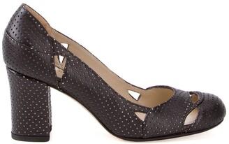 Sarah Chofakian chunky heel pumps