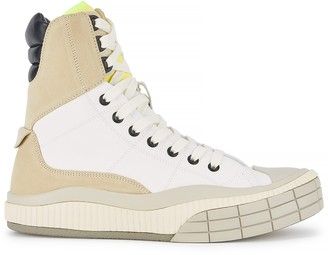 Chloé Clint Panelled Hi-top Sneakers