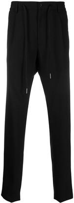 Tagliatore Drawstring-Waist Tailored Trousers
