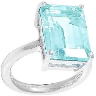 Augustine Jewels Sky Blue Topaz Ring