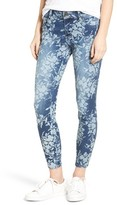 KUT from the Kloth Women's Eva Floral Print Skinny Ankle Jeans