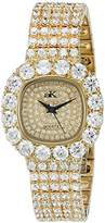 Adee Kaye Women's AK26N-LG/CR Bijou Analog Display Quartz Gold Watch