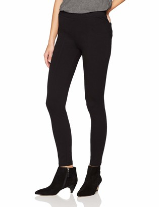 Daily Ritual Womens Seamed Front 2-Pocket Ponte Knit Legging