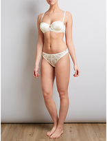 Somerset by Alice Temperley Sylvie Bridal Brazilian Briefs, Ivory