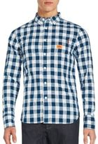 Superdry Long Sleeve Checkered Shirt