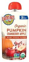 Earth Earth's Best Organic Stage 3 Pumpkin Cranberry Apple Baby Food 4.2 oz