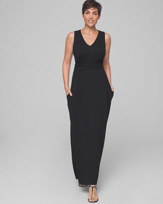 Soma Intimates Soft Jersey V-Neck Maxi Dress