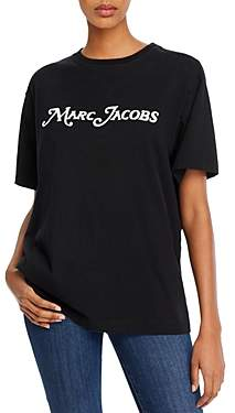 Marc Jacobs The Logo Embellished Tee