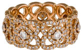 De Beers Diamond Enchanted Lotus Ring
