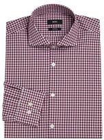 HUGO BOSS Slim-Fit Gingham Shirt