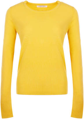 Sevinc SEVINC Women's Pullover Sweaters Yellow - Yellow Scoop Neck Sweater - Women