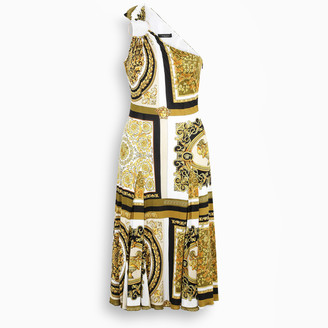 Versace Barocco Mosaic print dress