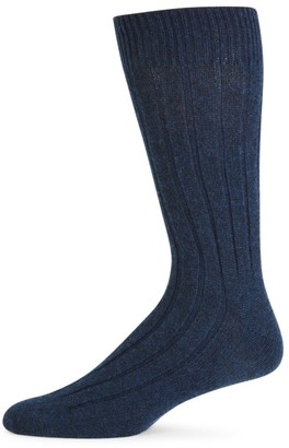 Marcoliani Milano Ribbed Cashmere Socks