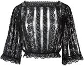 RED Valentino lace blouse