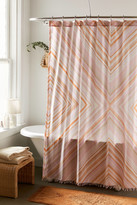Urban Outfitters Sabrina Fringed Shower Curtain