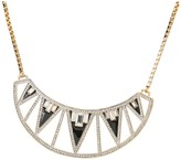 Juicy Couture Shining Statements Open Plate Drama Necklace (Gold) - Jewelry