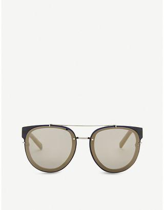 Christian Dior Blacktie143s round-frame sunglasses