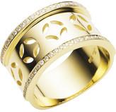 Jan Logan 18ct Yellow Gold Diamond Gatsby Ring