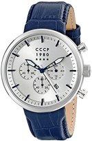 Cccp Men's CP-7007-05 Kashalot Dress Analog Display Japanese Quartz Blue Watch
