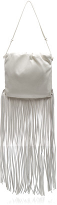 Bottega Veneta The Fringe Pouch Leather Bag