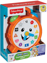 Fisher-Price The Laugh & Learn Counting Colours Clock