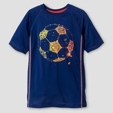 Cat & Jack Boys' Activewear Soccer Graphic T-Shirt Cat & Jack - Blue