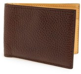 Magnanni 'Rugohan' Grainy Leather Bifold Wallet
