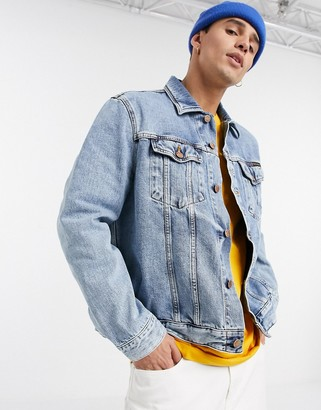 Nudie Jeans Jerry indigo gaze denim jacket