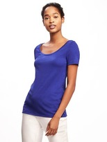 Old Navy Classic Semi-Fitted Tee for Women