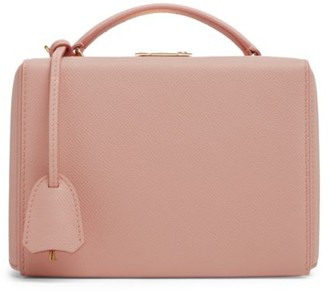 Mark Cross Small Grace Leather Crossbody Box Bag