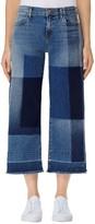 J Brand Women's Patchwork Culotte Jeans