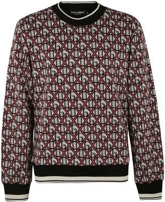 Dolce & Gabbana All-over Printed Sweatshirt