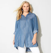 Avenue Princess Seam Denim Tunic