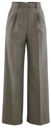 Fendi Wool and silk trousers