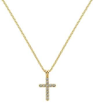 Melissa Odabash Crystal Cross Pendant Necklace