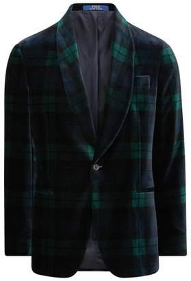 Ralph Lauren Polo Tartan Velvet Jacket
