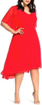 City Chic Adore High/Low Dress