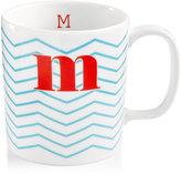 "The Cellar Chevron Initial Mug Collection ""M"" Mug"