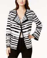 Alfani Sequin-Embellished Sweater Jacket, Created for Macy's
