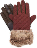 Isotoner Signature Stretch & Faux-Fur Gloves