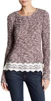 Threads 4 Thought Lace Hem Sweater