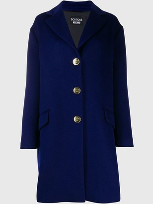 Boutique Moschino Oversized Single-Breasted Coat