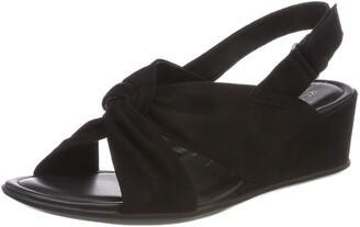 Ecco Shape 35 Wedge Sandal Black